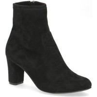 Cipők Női Bokacsizmák Caprice Booties Low Heels Black Black
