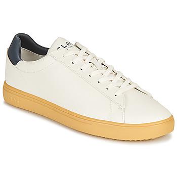 Cipők Rövid szárú edzőcipők Clae BRADLEY CACTUS Fehér / Kék