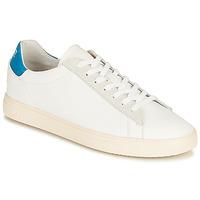 Cipők Rövid szárú edzőcipők Clae BRADLEY CALIFORNIA Fehér / Kék