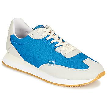Cipők Rövid szárú edzőcipők Clae RUNYON Kék / Szürke