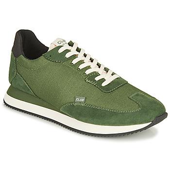Cipők Férfi Rövid szárú edzőcipők Clae RUNYON Zöld