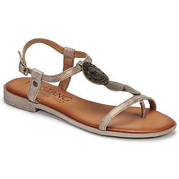 Cipők Női Szandálok / Saruk Mustang ANITTA Bronz