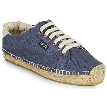 Cipők Női Gyékény talpú cipők Banana Moon PACEY Kék