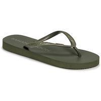 Cipők Női Lábujjközös papucsok Banana Moon SWAINS TAHUATA Zöld