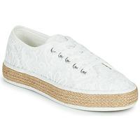 Cipők Női Rövid szárú edzőcipők Banana Moon ECHA MURRAY Fehér