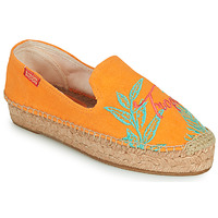 Cipők Női Gyékény talpú cipők Banana Moon VERAO Narancssárga