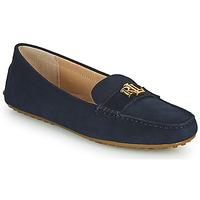 Cipők Női Mokkaszínek Lauren Ralph Lauren BARNSBURY FLATS CASUAL Tengerész