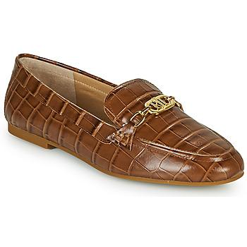 Cipők Női Mokkaszínek Lauren Ralph Lauren AVERI Konyak