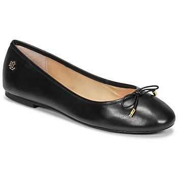 Cipők Női Balerina cipők  Lauren Ralph Lauren JAYNA Fekete