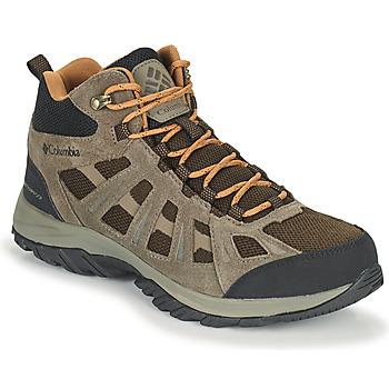 Cipők Férfi Túracipők Columbia REDMOND III MID WATERPROOF Barna