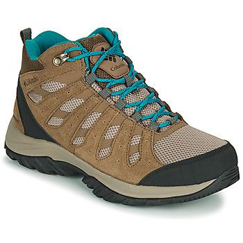 Cipők Női Túracipők Columbia REDMOND III MID WATERPROOF Bézs