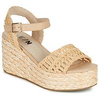 Cipők Női Gyékény talpú cipők Elue par nous JISPY Bézs