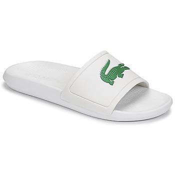 Cipők Férfi strandpapucsok Lacoste CROCO SLIDE 119 1 CMA Fehér / Zöld