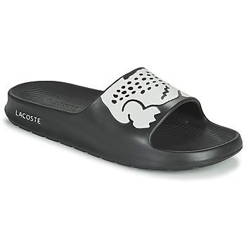 Cipők Férfi strandpapucsok Lacoste CROCO 2.0 0721 2 CMA Fekete  / Fehér