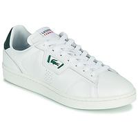 Cipők Férfi Rövid szárú edzőcipők Lacoste MASTERS CLASSIC 07211 SMA Fehér / Zöld