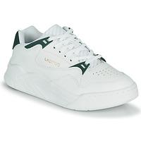Cipők Női Rövid szárú edzőcipők Lacoste COURT SLAM 0721 1 SFA Fehér / Zöld