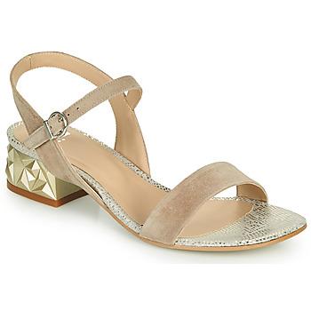Cipők Női Szandálok / Saruk Perlato 11817-CAM-FREJE-STONE Bézs / Arany