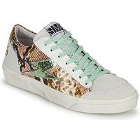 Cipők Női Rövid szárú edzőcipők Semerdjian ELISE Fehér / Barna