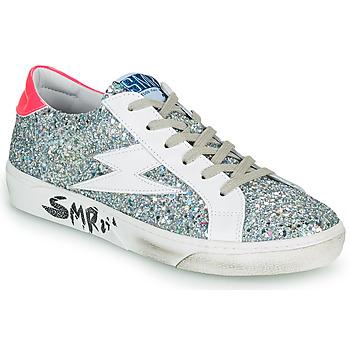 Cipők Női Rövid szárú edzőcipők Semerdjian CATRI Ezüst / Rózsaszín