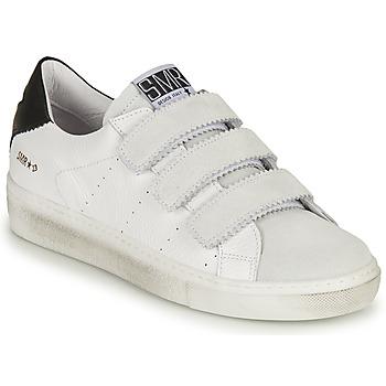 Cipők Női Rövid szárú edzőcipők Semerdjian DONIG Fehér