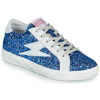 Cipők Női Rövid szárú edzőcipők Semerdjian OSLO Kék