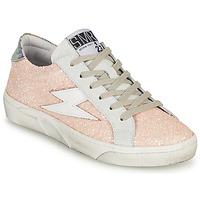 Cipők Női Rövid szárú edzőcipők Semerdjian CATMI Rózsaszín