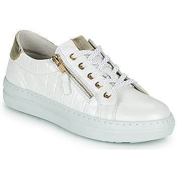 Cipők Női Rövid szárú edzőcipők Dorking VIP Fehér / Ezüst
