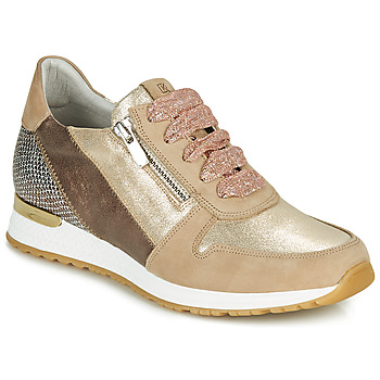 Cipők Női Rövid szárú edzőcipők Dorking VIOLA Arany