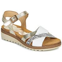 Cipők Női Szandálok / Saruk Dorking ESPE Fehér / Ezüst