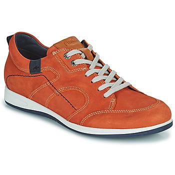 Cipők Férfi Rövid szárú edzőcipők Fluchos 9734-CRETA-CUERO Barna