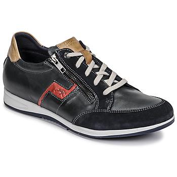 Cipők Férfi Rövid szárú edzőcipők Fluchos 0207-AFELPADO-MARINO Tengerész