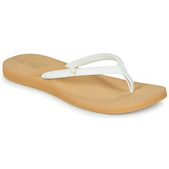 Cipők Női Lábujjközös papucsok Reef REEF SEAS Fehér