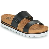 Cipők Női strandpapucsok Reef CUSHION VISTA HI Fekete