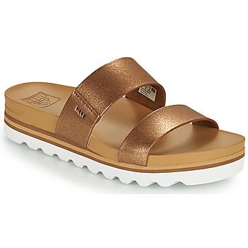 Cipők Női strandpapucsok Reef CUSHION VISTA HI Barna