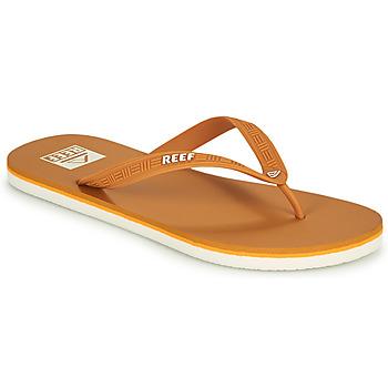 Cipők Férfi Lábujjközös papucsok Reef REEF SEASIDE Mustár sárga