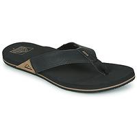 Cipők Férfi Lábujjközös papucsok Reef REEF NEWPORT Fekete