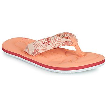 Cipők Lány Lábujjközös papucsok Reef KIDS POOL FLOAT Rózsaszín