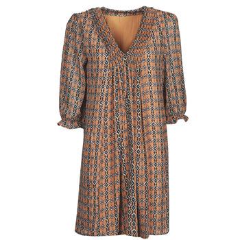 Ruhák Női Rövid ruhák Freeman T.Porter JUNA SAMBA Narancssárga