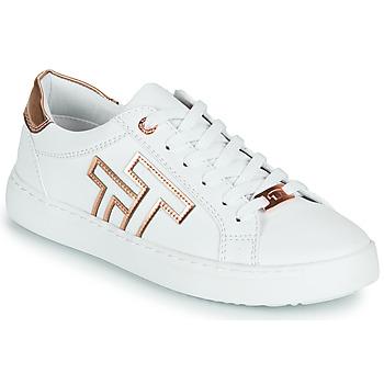Cipők Női Rövid szárú edzőcipők Tom Tailor POUCE Fehér