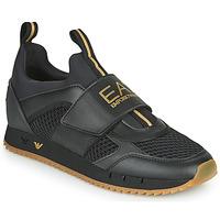 Cipők Férfi Rövid szárú edzőcipők Emporio Armani EA7 CALMONI Fekete