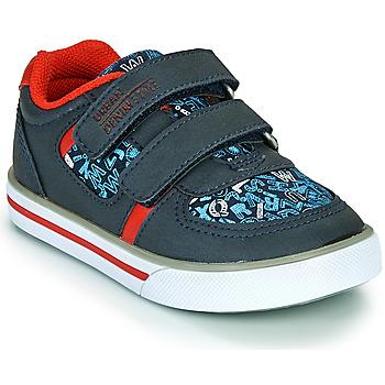 Cipők Fiú Rövid szárú edzőcipők Chicco FREDERIC Kék / Piros