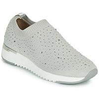 Cipők Női Rövid szárú edzőcipők Caprice 24700 Szürke