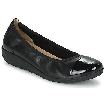 Cipők Női Balerina cipők  Caprice 22103-026 Fekete