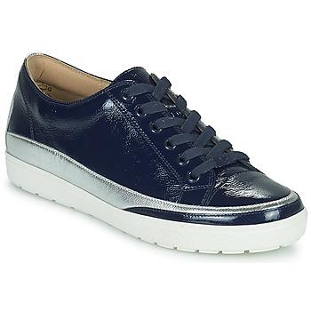 Cipők Női Rövid szárú edzőcipők Caprice 23654-889 Kék