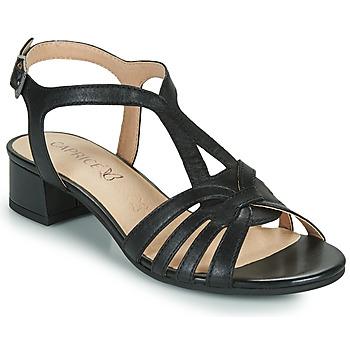Cipők Női Szandálok / Saruk Caprice 28201-022 Fekete