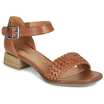 Cipők Női Szandálok / Saruk Caprice 28208-303 Konyak