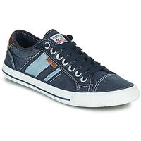Cipők Férfi Rövid szárú edzőcipők Dockers by Gerli 42JZ004-670 Kék