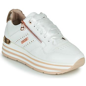 Cipők Női Rövid szárú edzőcipők Dockers by Gerli 44CA207-592 Fehér