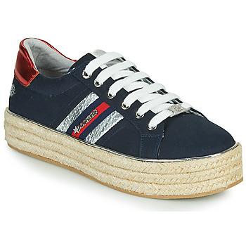 Cipők Női Rövid szárú edzőcipők Dockers by Gerli 46GV202-660 Kék