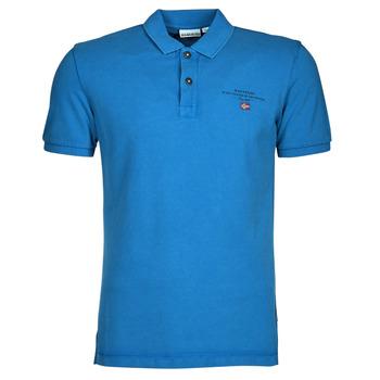 Ruhák Férfi Rövid ujjú galléros pólók Napapijri ELBAS 4 Kék